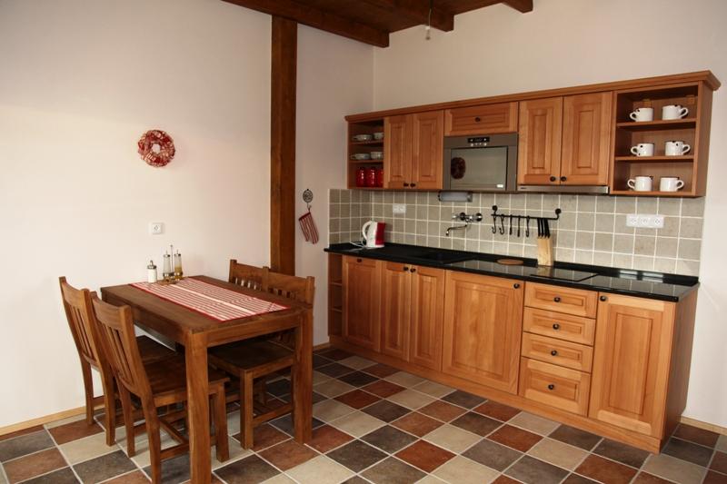 kuchyn apartmán č. 2
